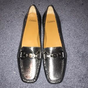 Joan and David loafers